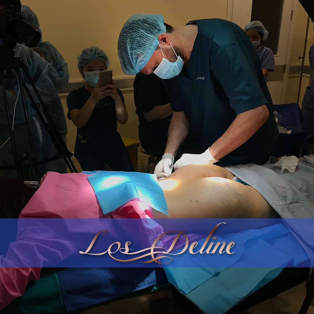 Dr. Mladen Mester educating Plastic Surgeons in Hanoi, Vietnam